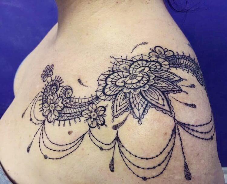 Кружевные татуировки, фото 9