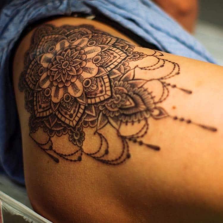 Кружевные татуировки, фото 10