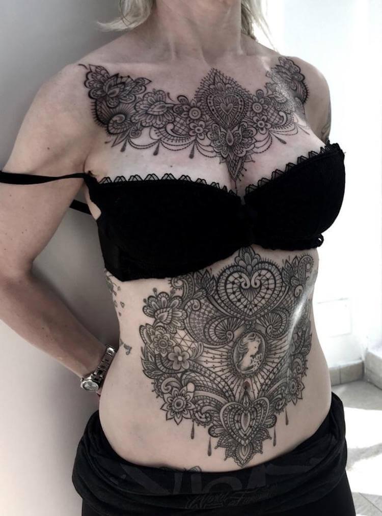 Кружевные татуировки, фото 11