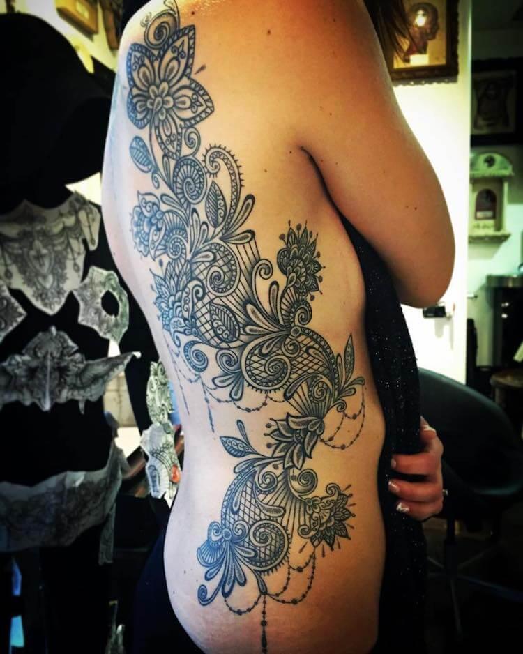 Кружевные татуировки, фото 2
