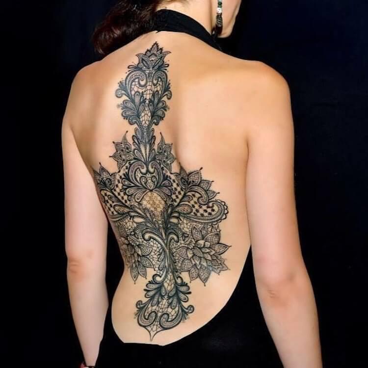 Кружевные татуировки, фото 4