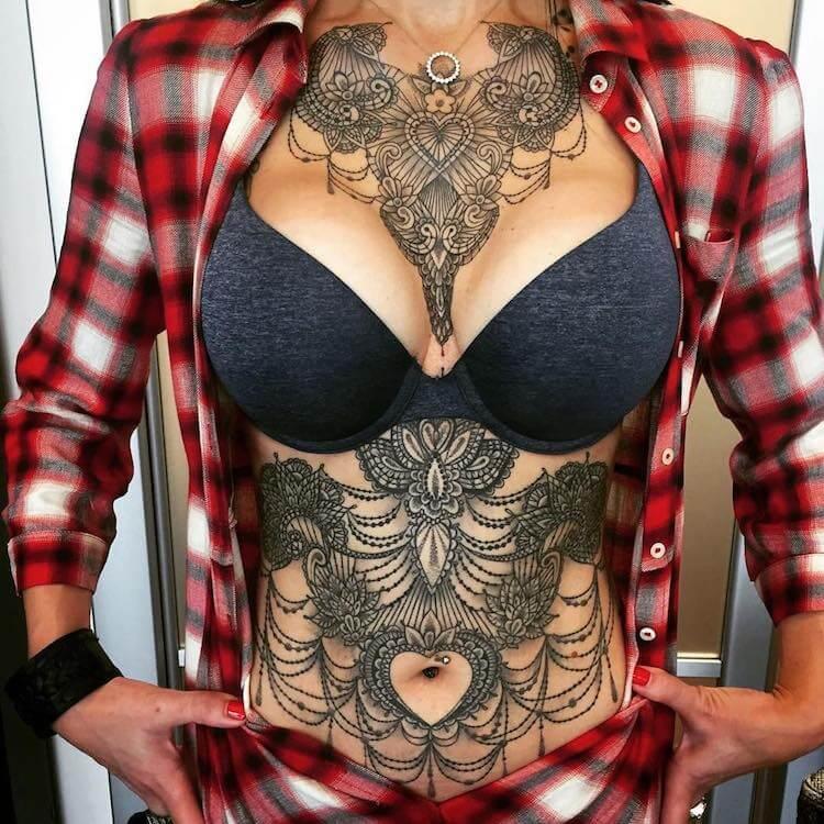 Кружевные татуировки, фото 7