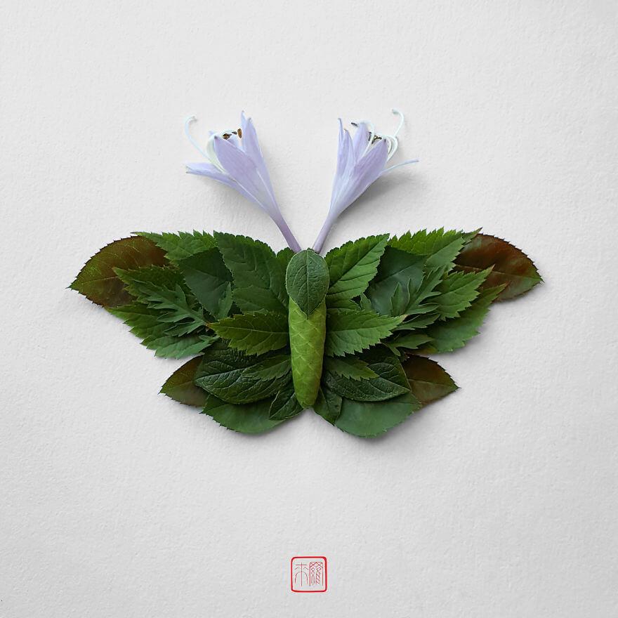 Насекомые из цветов, фото 5