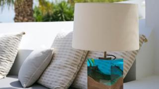 оригинальная лампа в спальне - Дерево в стекле, фото 8
