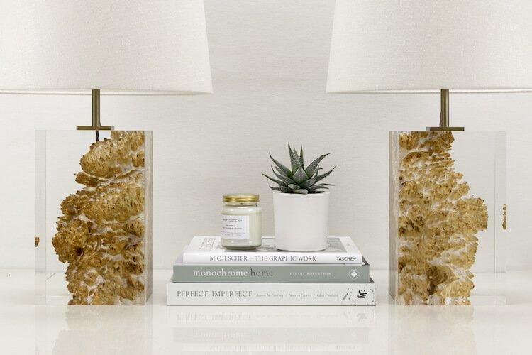 оригинальная лампа в спальне - Дерево в стекле, фото 9