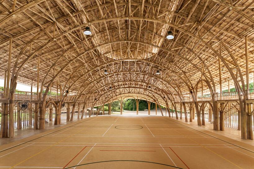 Школа из бамбука, фото 7