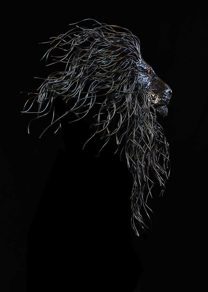 скульптуры из металла, фото 5