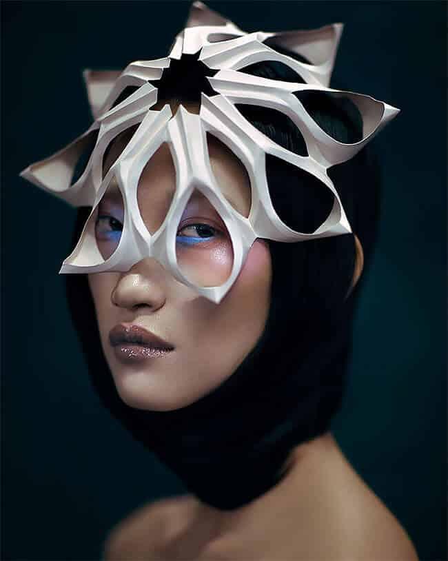 удивительные головные уборы от Дизайнера, Фото 5