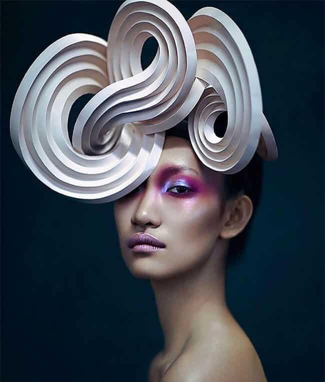 удивительные головные уборы от Дизайнера, Фото 8