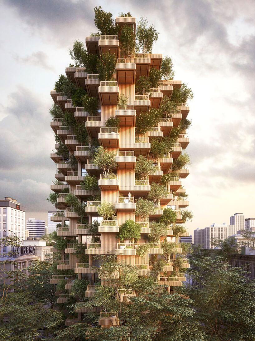 Деревянны небоскреб, фото 5