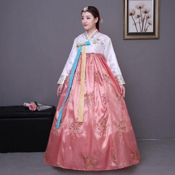 женщины в традиционных костюмах, Корея, фото 11