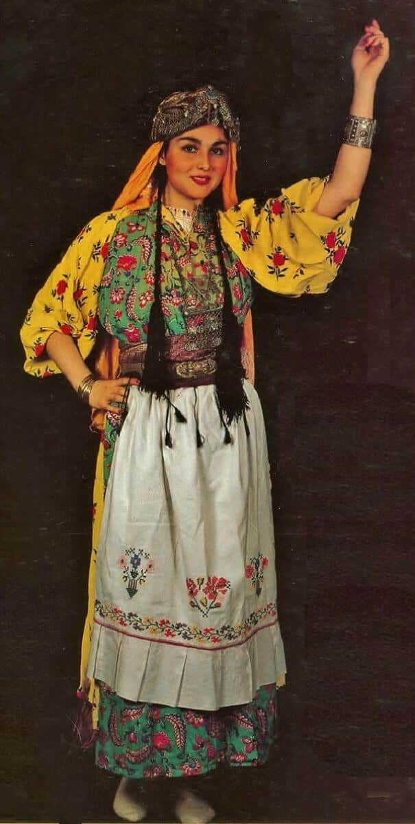 женщины в традиционных костюмах, Сирия, фото 2
