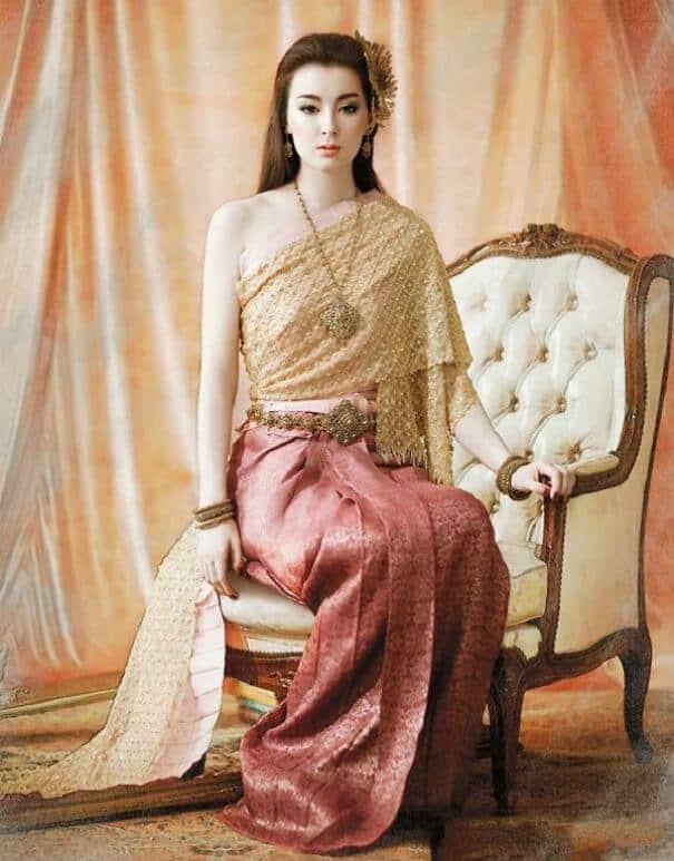 женщины в традиционных костюмах, Таиланд, фото 14