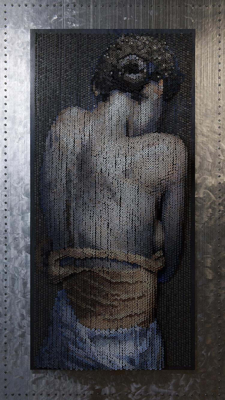 Портреты из шурупов, фото 6