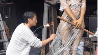 Реалистичные женские скульптуры, фото 1