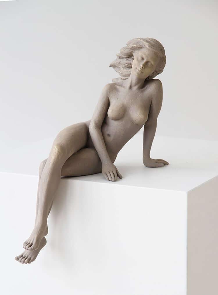 Реалистичные женские скульптуры, фото 12