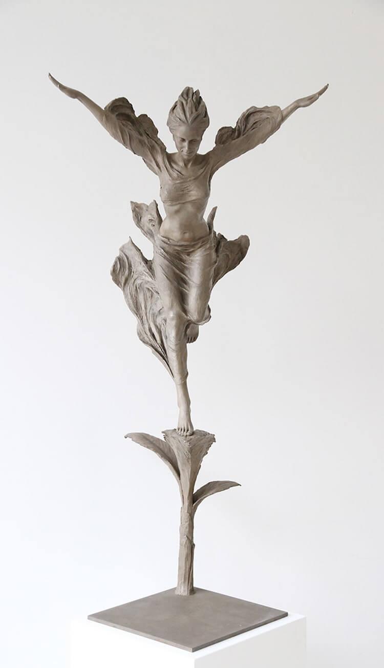Реалистичные женские скульптуры, фото 14