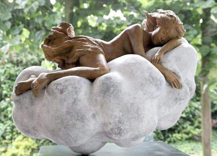 Реалистичные женские скульптуры, фото 16