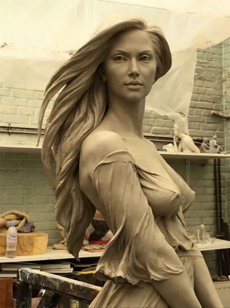 Реалистичные женские скульптуры, фото 2