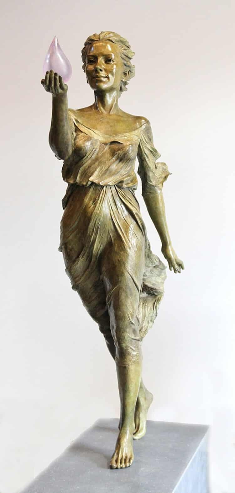 Реалистичные женские скульптуры, фото 4