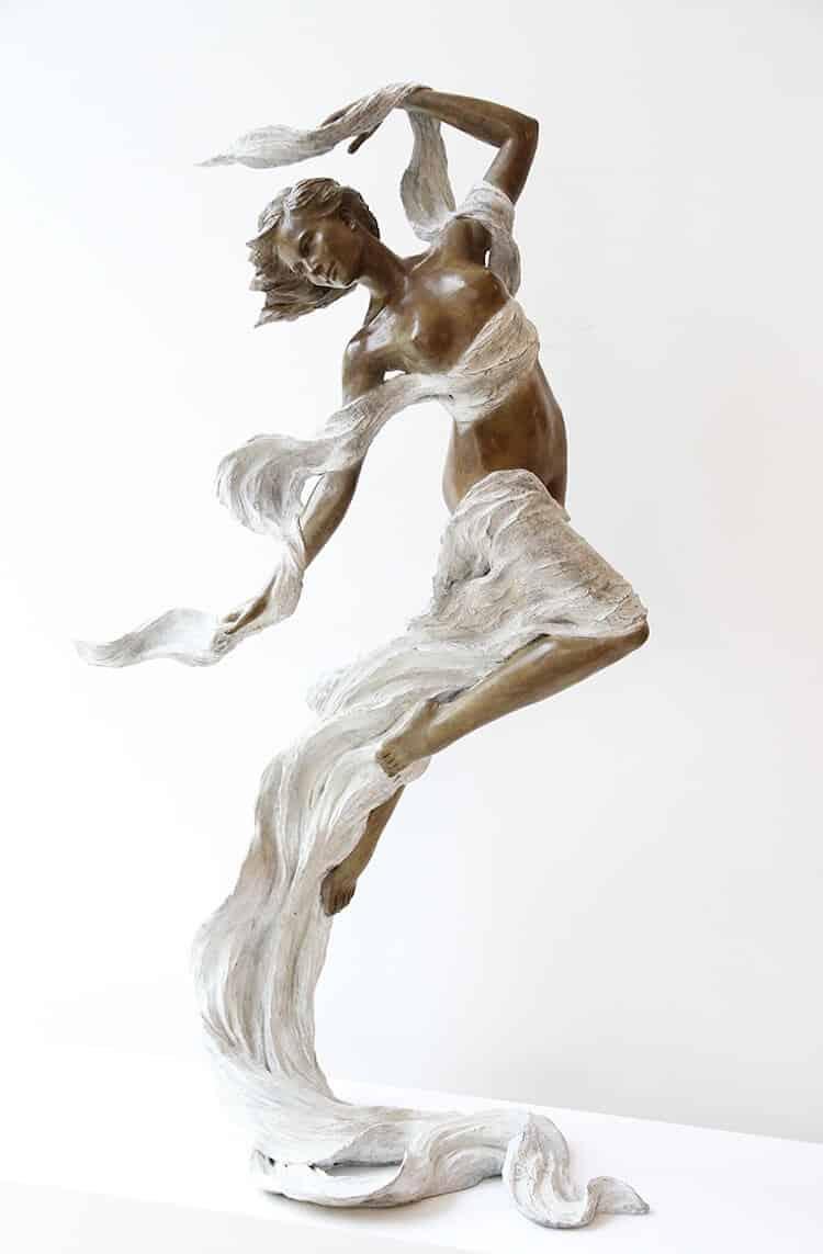 Реалистичные женские скульптуры, фото 7