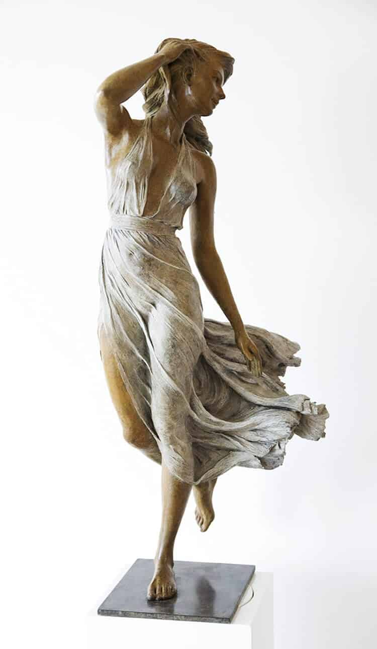 Реалистичные женские скульптуры, фото 8