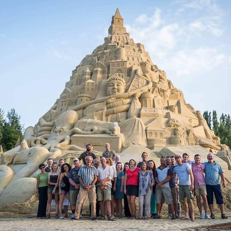 Самый высокий замок из песка, фото 7