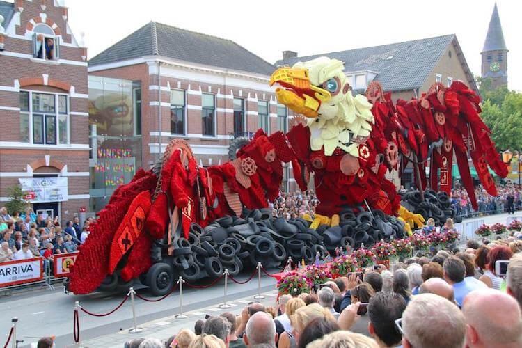 Цветочный парад Корсо Зюндерт, фото 5