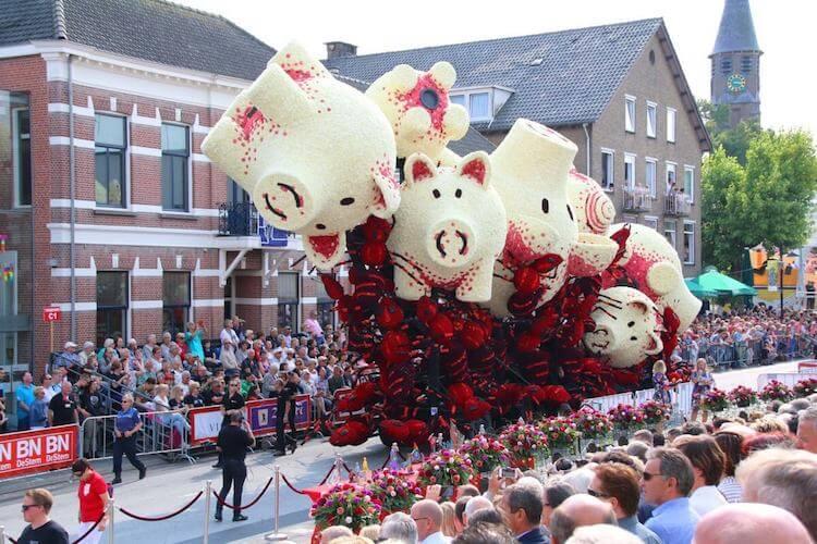 Цветочный парад Корсо Зюндерт, фото 7