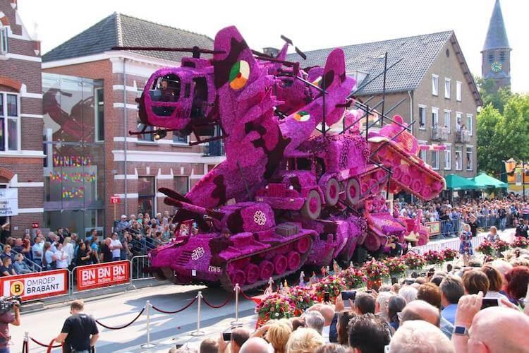 Цветочный парад Корсо Зюндерт, фото 8