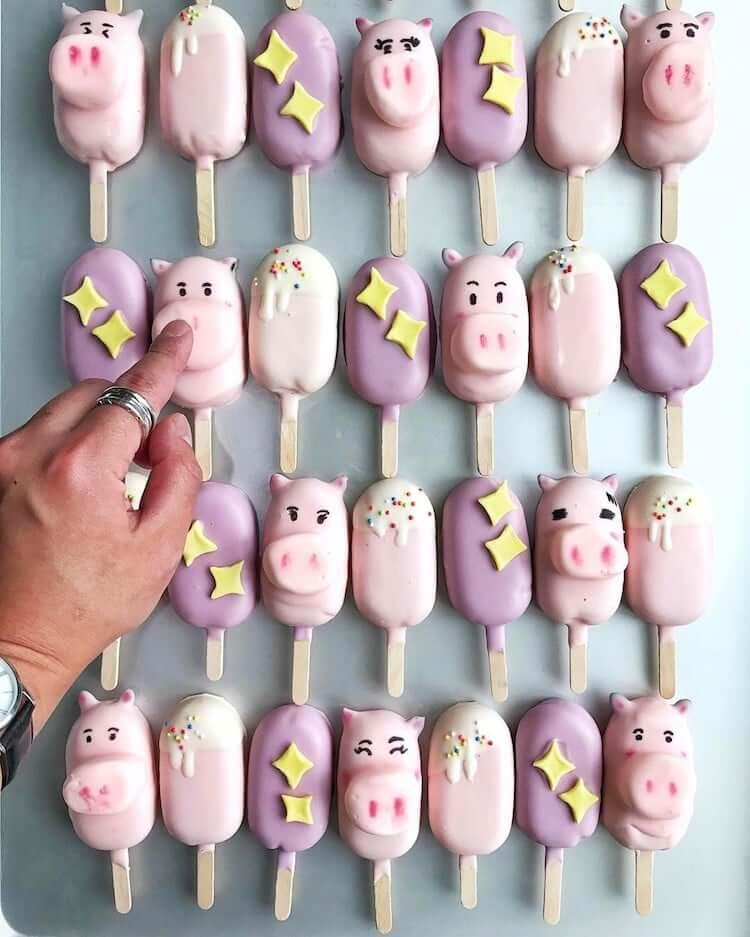 Креативные кейк попсы, фото 10