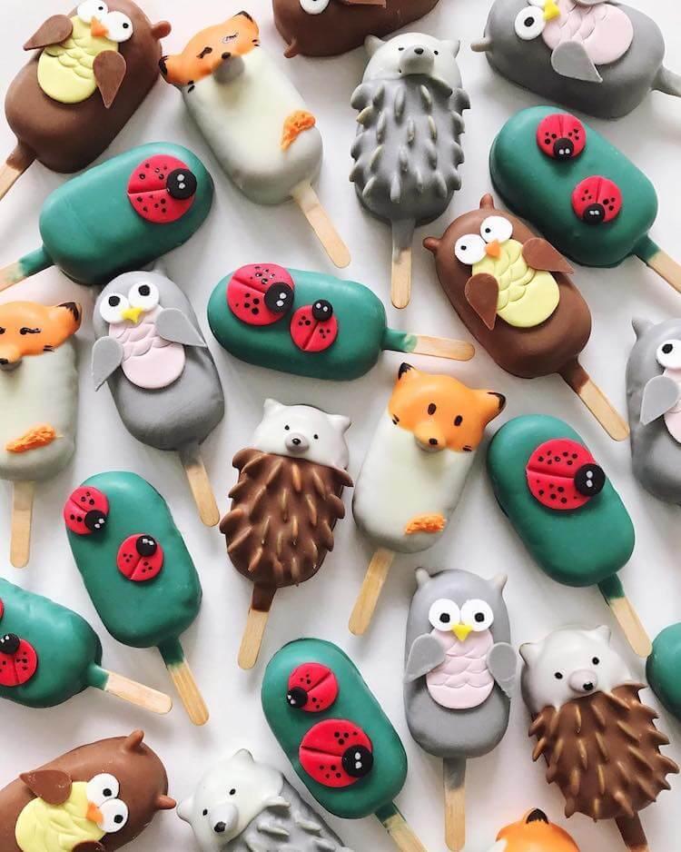 Креативные кейк попсы, фото 3