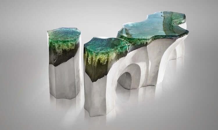 Каменно акриловая мебель, фото 5