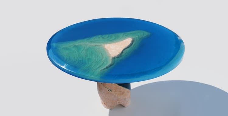 Каменно акриловая мебель, фото 7
