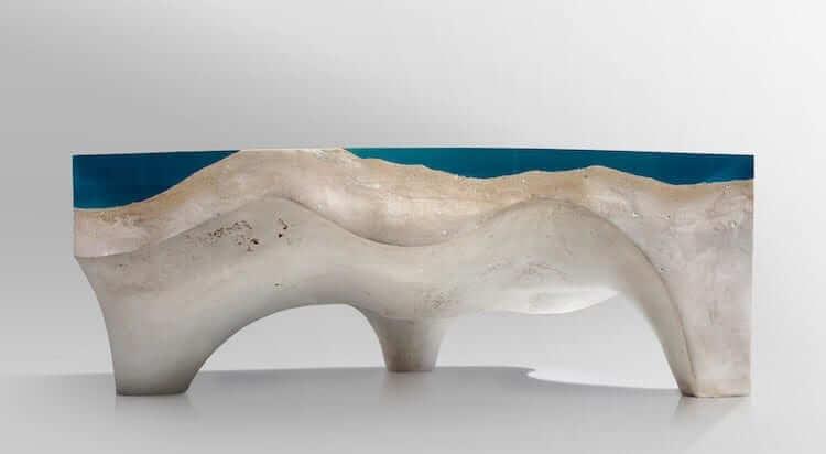 Каменно акриловая мебель, фото 9