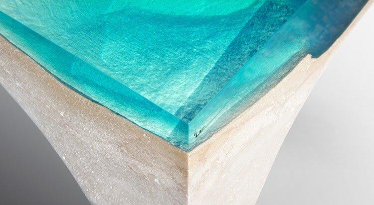 Каменно акриловая мебель, фото 10