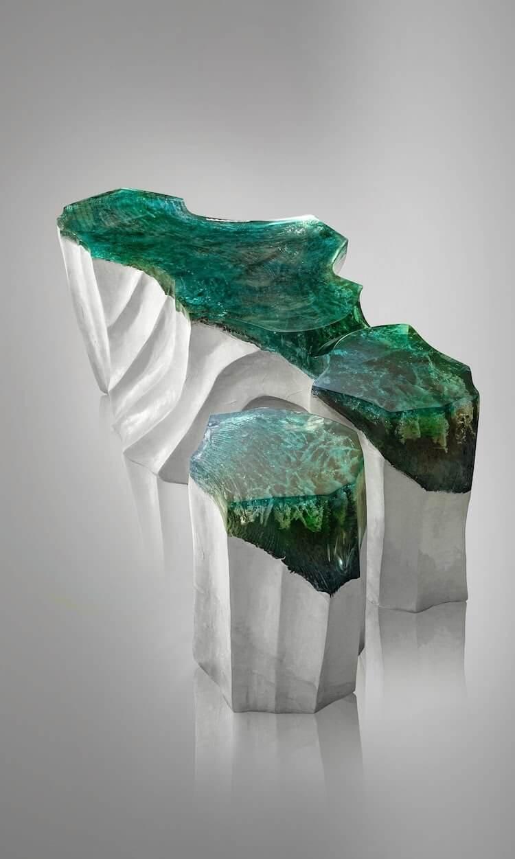 Каменно акриловая мебель, фото 11