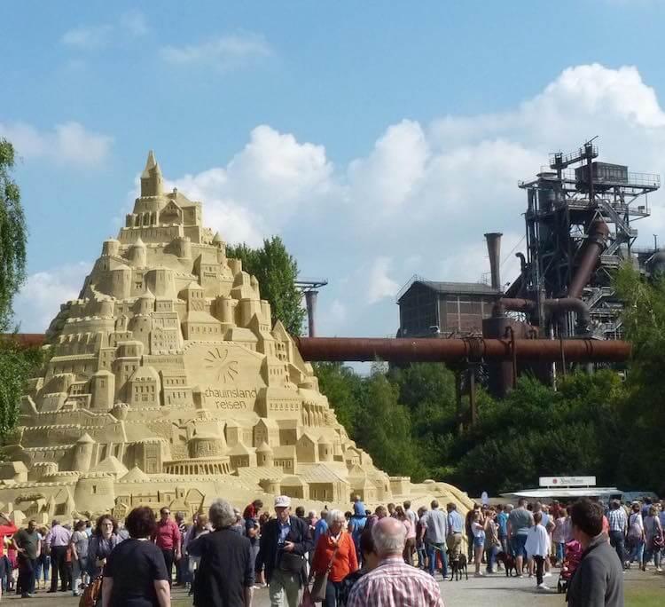 Самый высокий замок из песка, фото 1