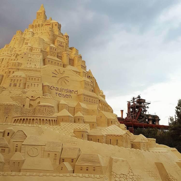 Самый высокий замок из песка, фото 2