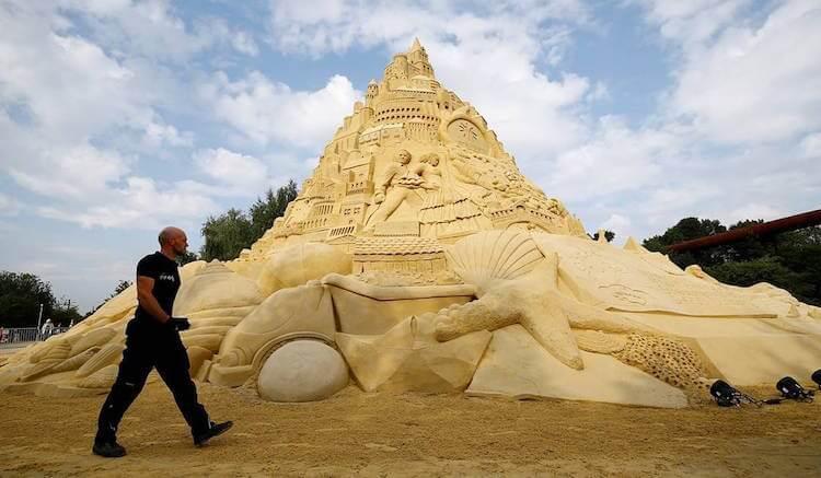 Самый высокий замок из песка, фото 3