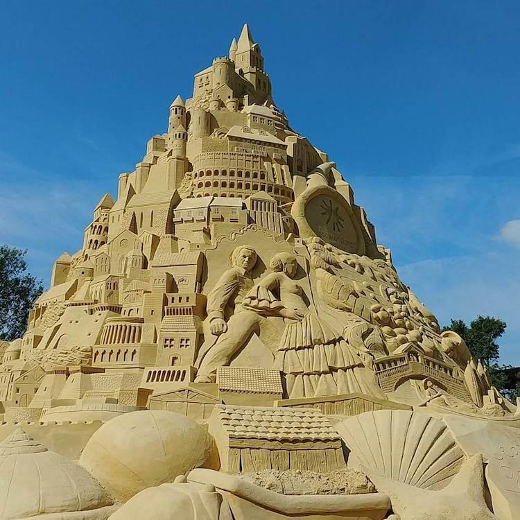 Самый высокий замок из песка, фото 4
