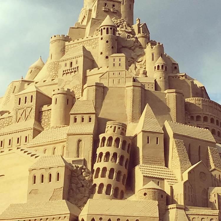 Самый высокий замок из песка, фото 5