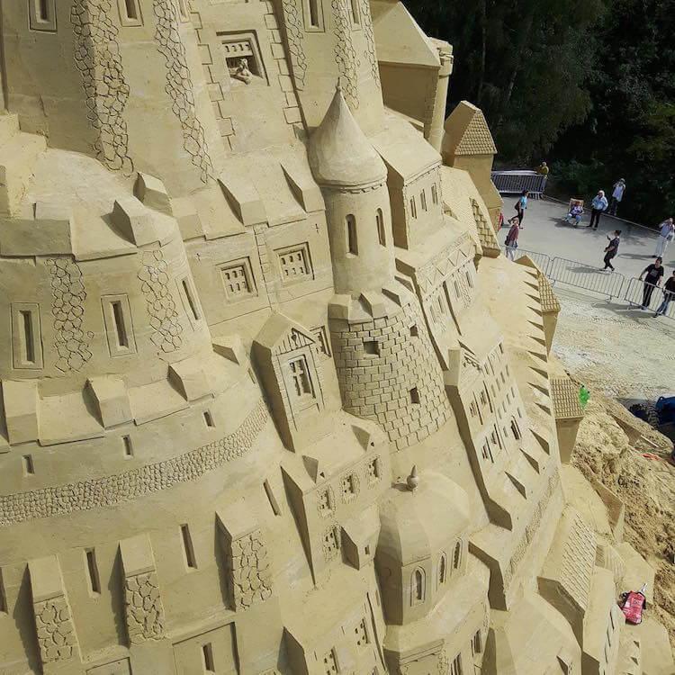 Самый высокий замок из песка, фото 6
