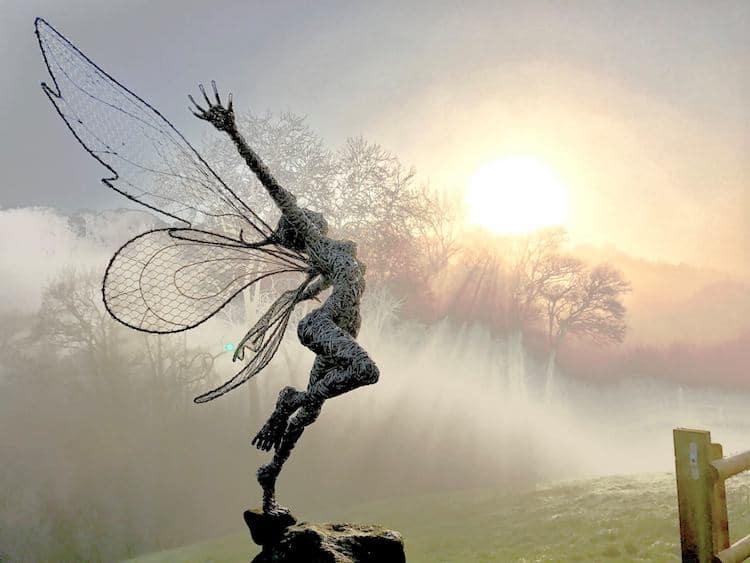 Скульптуры из проволки, фото 1