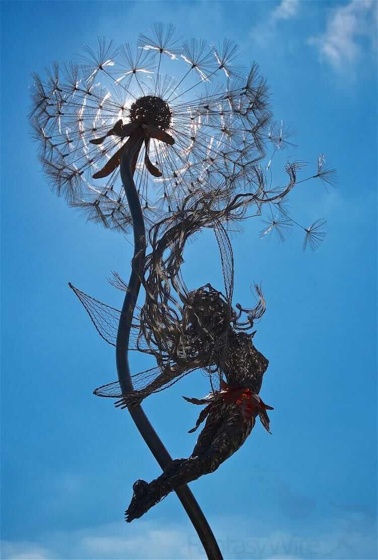 Скульптуры из проволки, фото 2