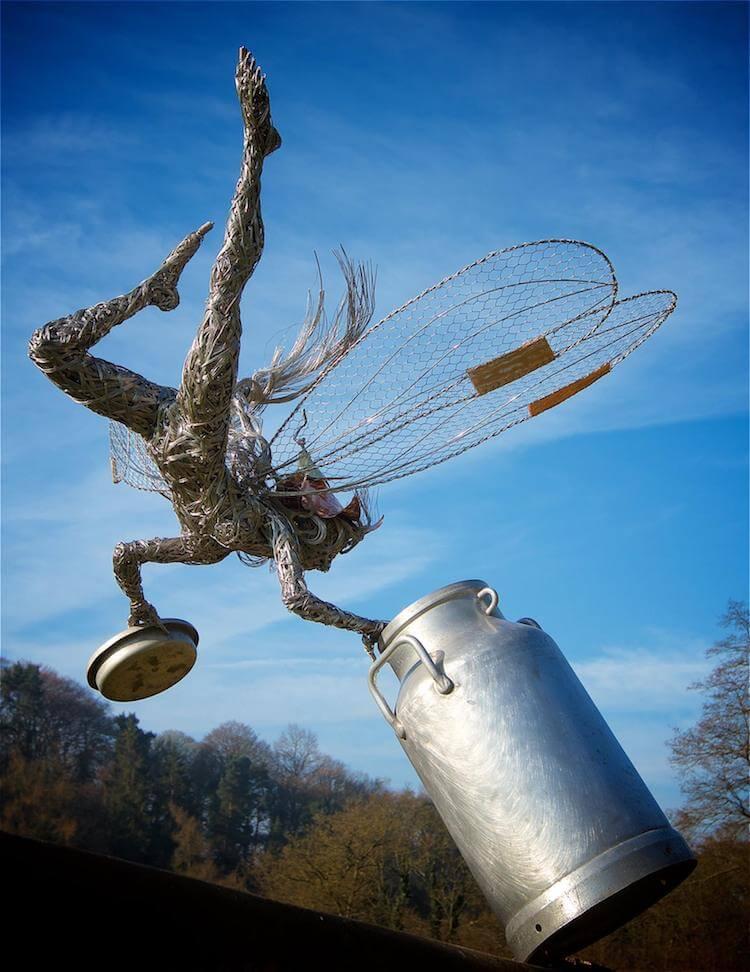 Скульптуры из проволки, фото 5