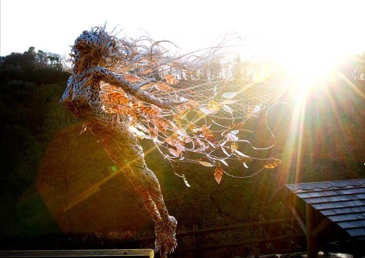 Скульптуры из проволки, фото 9
