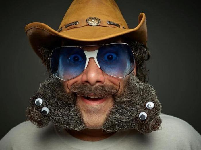 Безумные прически с Чемпионата мира по бородам и усам 2017 года