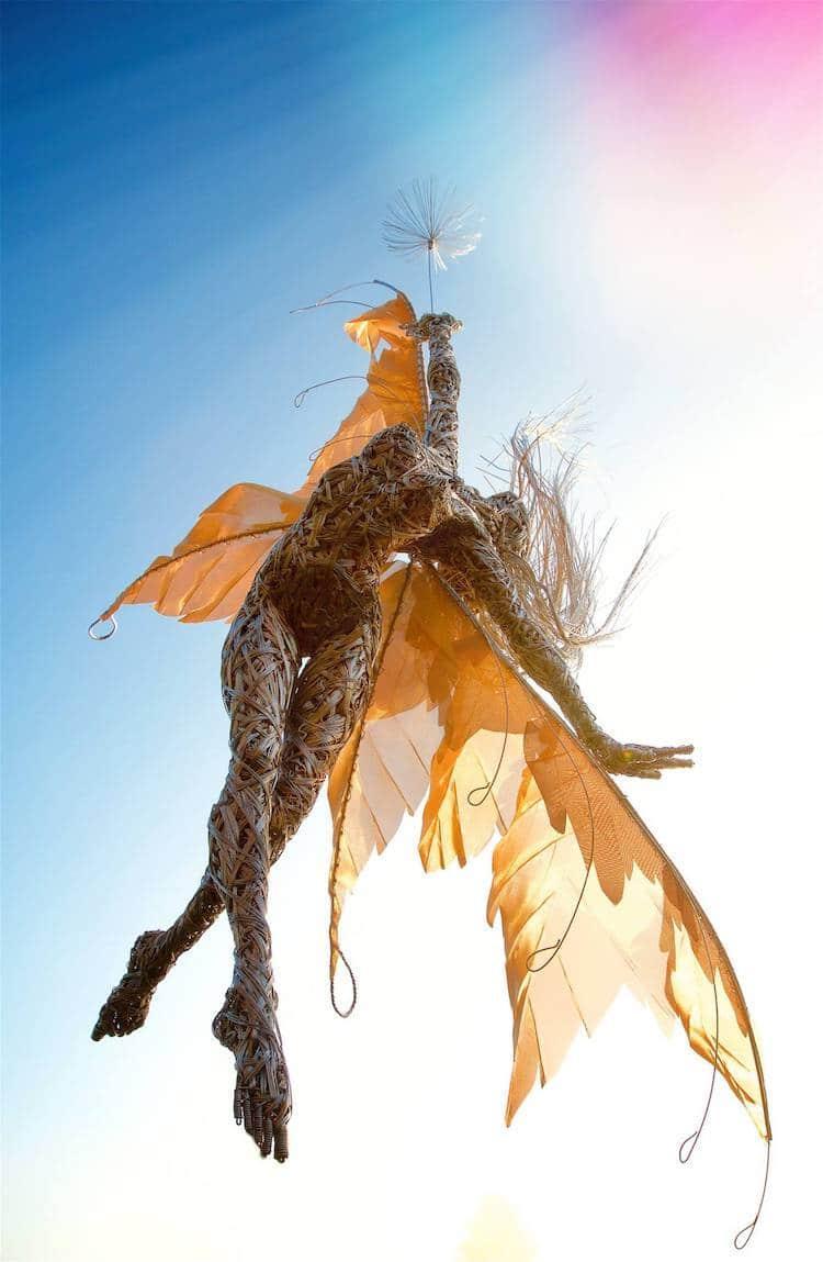 Скульптуры из проволки, фото 14