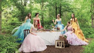 Свадебное платье в стиле диснеевсих принцес, фото 4